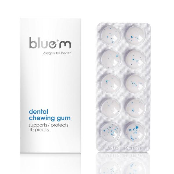blue®m Zahnpflegekaugummi (10 Stück)