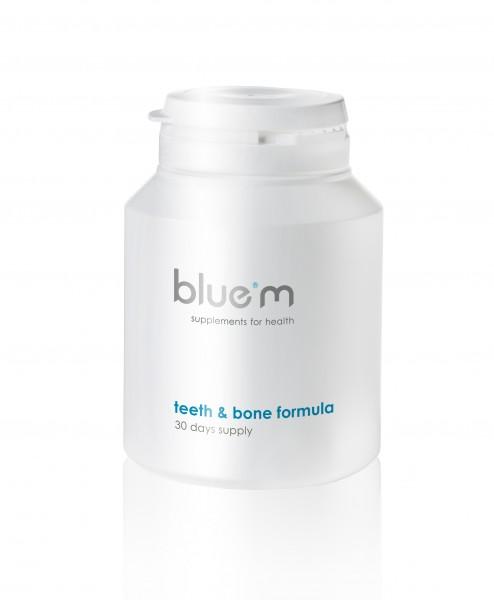 blue®m Nahrungsergänzung für Zähne & Knochen (90 Kapseln)